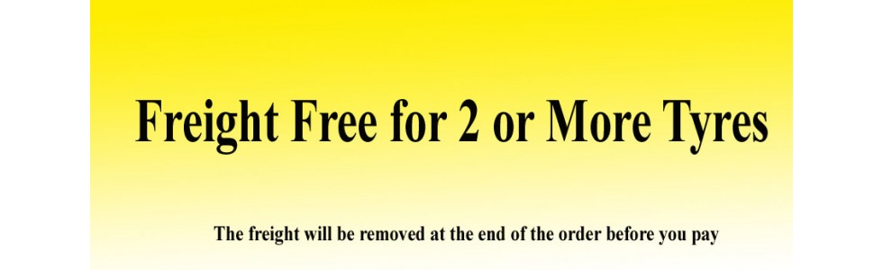 freight free for 2 or more